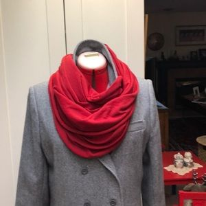 enormous fine knit infinity scarf
